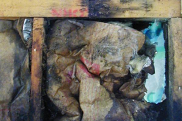 断熱材や柱の腐食