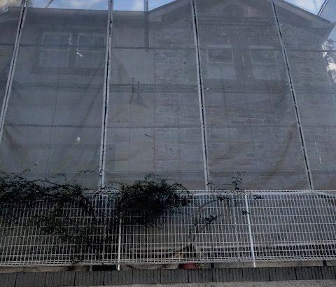 外壁塗装 横浜 足場工事